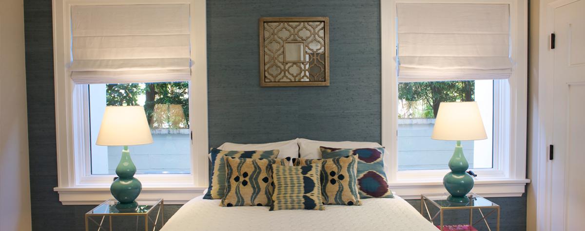 Pacific Palisades home layers fabrics